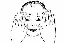 abrir el libro sobre la frente El masaje Infantil Paso a Paso